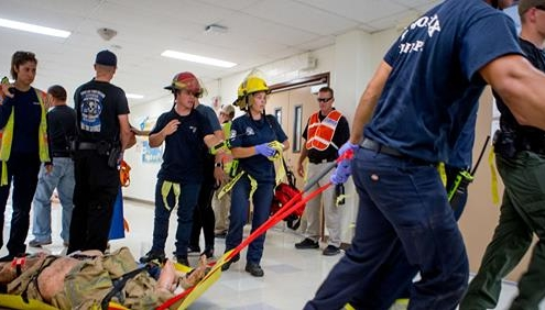 Phoenix Firefighters Active Shooter Drill